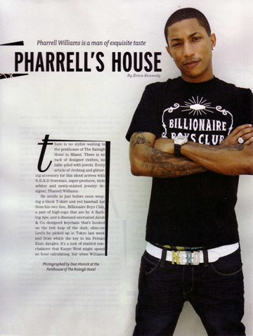 pharrell williams chain