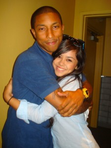 Pharrell & Alyssa Bernal