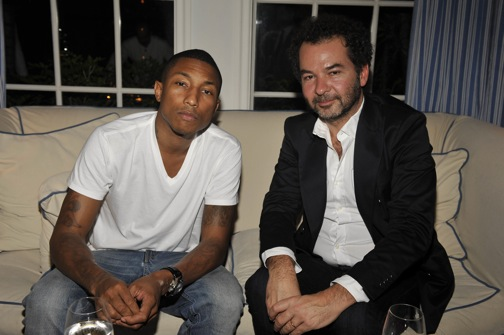 Remo Ruffini & Pharrell At Casa Tua
