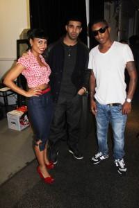 Rhea, Pharrell & Drake