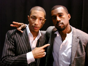 Pharrell Williams & Kanye West