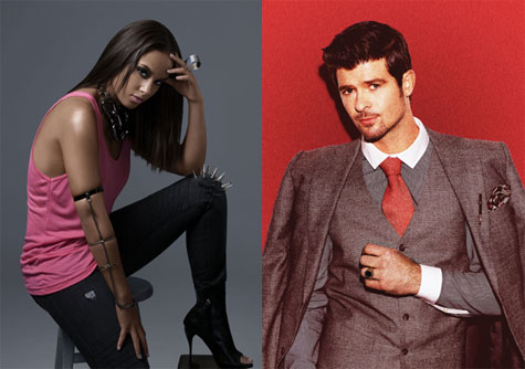 Alicia Keys & Robin Thicke