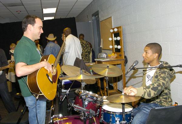 Pharrell & Dave Matthews