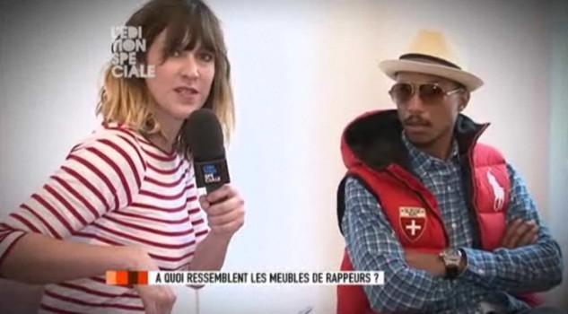 Pharrell On Canal +