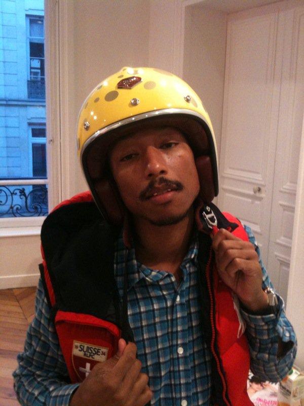 Pharrell x Ruby x SpongeBob Helmet