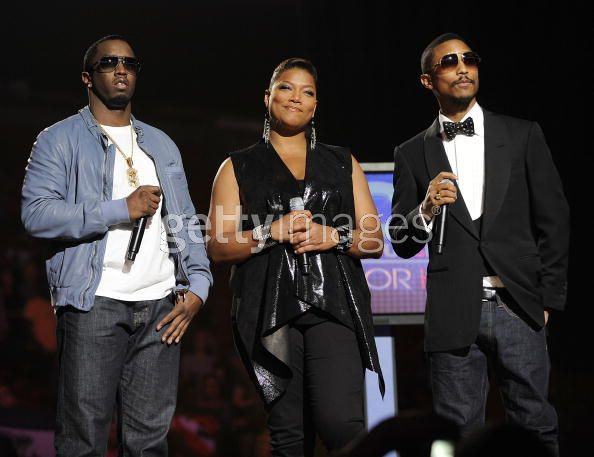 1. Diddy, Queen Latifah & Pharrell SOS