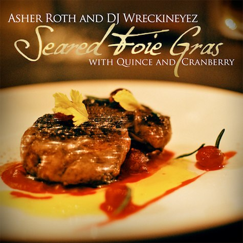Asher Roth - Seared Foie Gras With Quince & Cranberry (2010)