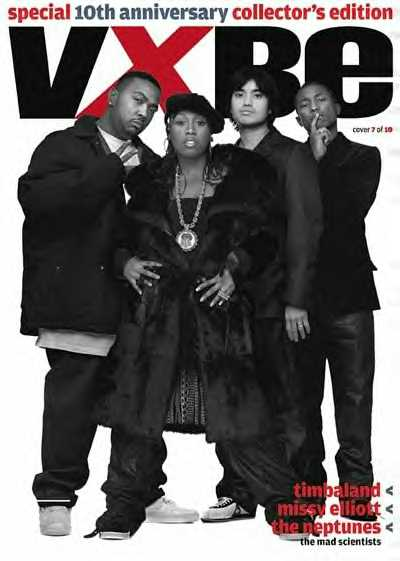 Neptunes, Timbaland aka SBI & Missy Elliott