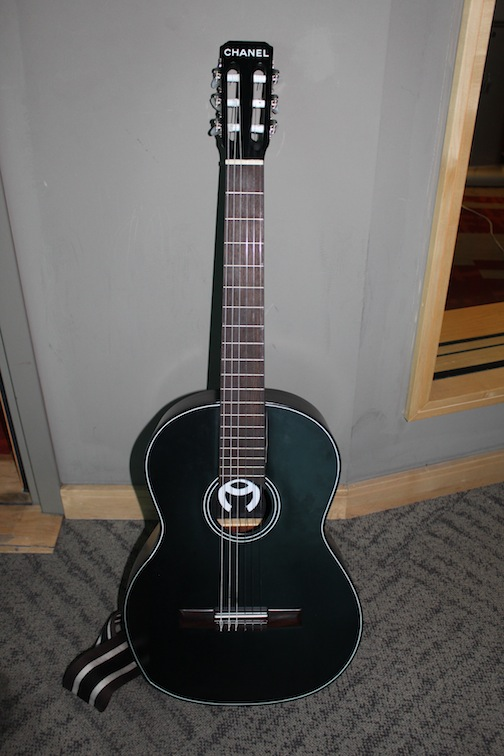 Pharrell's Chanel Guitar 2