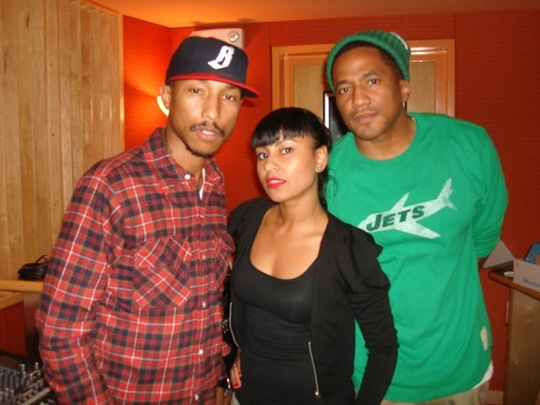 Q-Tip & Rhea In The Studio