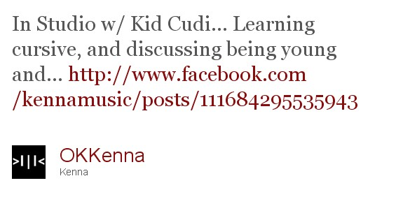 Kenna & Kid Cudi