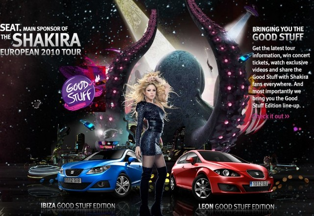 Shakira x SEAT