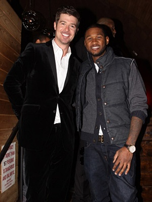 Usher & Robin Thicke