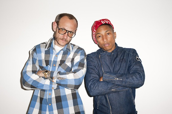 1. Terry Richardson & Pharrell Williams