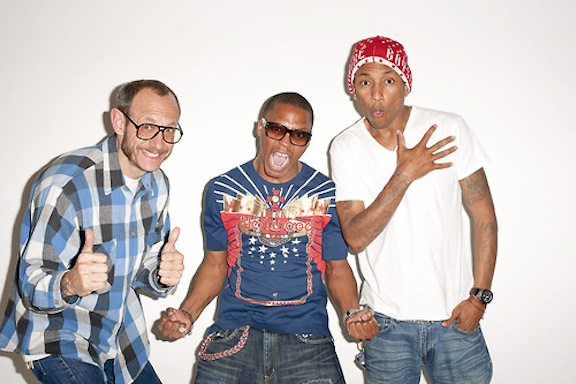3. Terry Richardson, Lupe Fiasco & Pharrell Williams