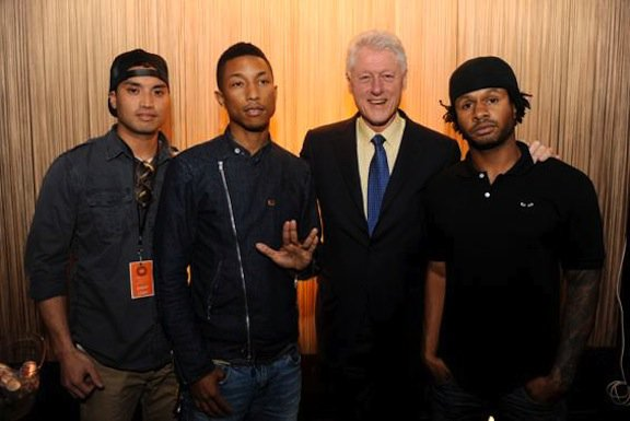 N.E.R.D. & Bill Clinton