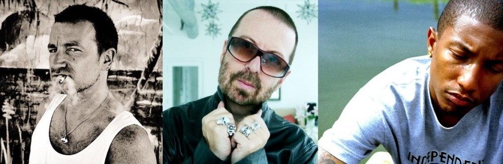 Bono, Dave Stewart & Pharrell