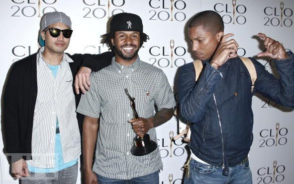 N.E.R.D CLIO Interactive & Innovative Awards 2