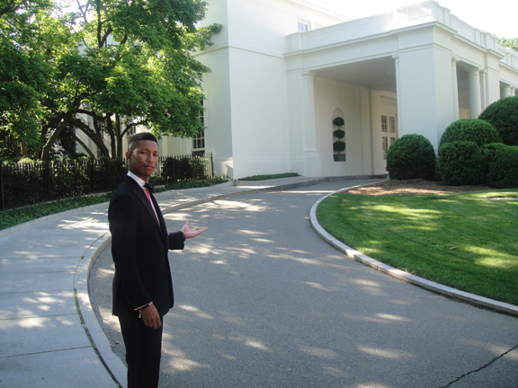 Pharrell At The White House