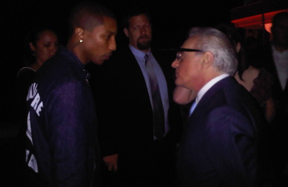 Pharrell Williams & Martin Scorcese