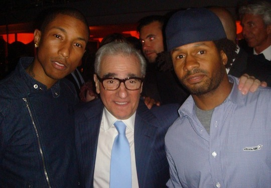 Pharrell Williams, Martin Scoresese & Shae Haley