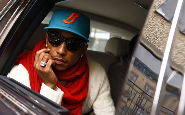 Celebrity Drive Pharrell Williams