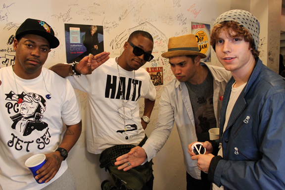 Fam-Lay, Lupe, Chad & D.A.