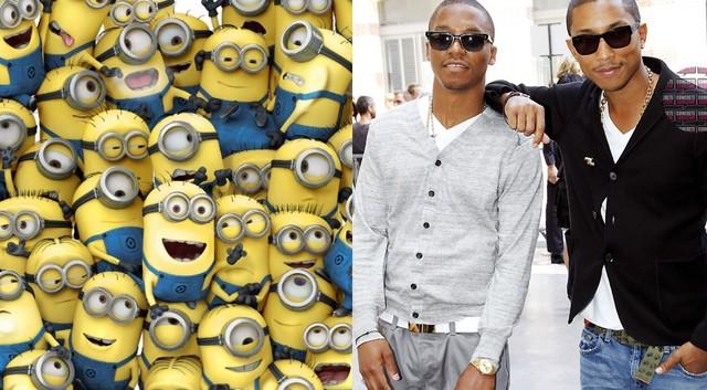 Pharrell, Lupe & Minions