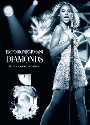Beyonce's Cologne - Emporio Armani Diamonds