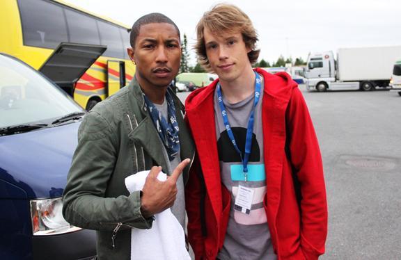 Felix Zenger & Pharrell